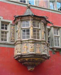 Schaffhausen - die Stadt mit den meisten Erkern - 171 an der Zahl