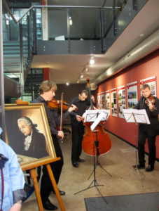 Photo Les musiciens de l´Académie Menuhin enthousiasment leur public