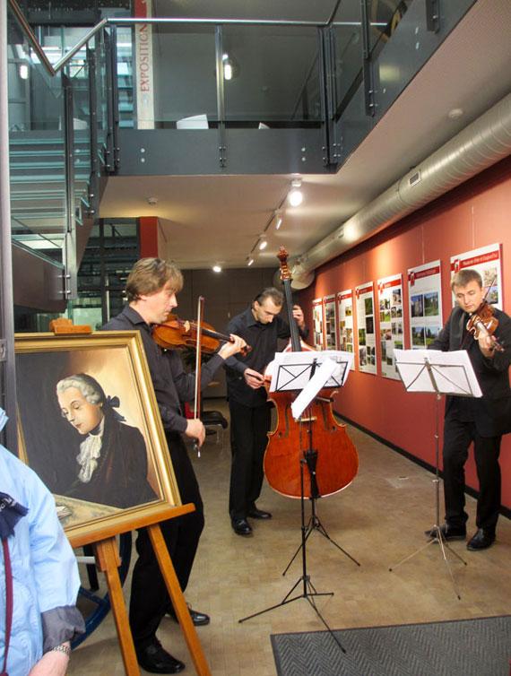 Foto Musiker der Académie Menuhin begeistern das Publikum