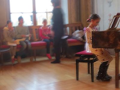 """Photo Les enfants de la commune jouent """"leur"""" Mozart"""