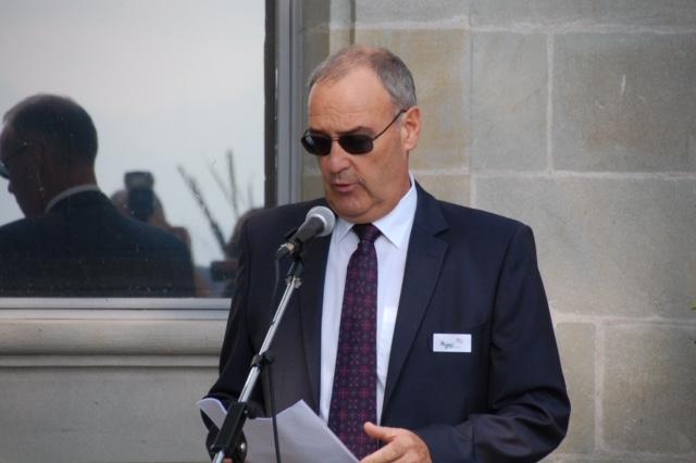 Foto Bundesrat Guy Parmelin bei seiner Ansprache
