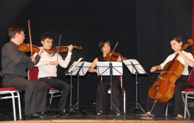 Foto Eine Musikerfamilie
