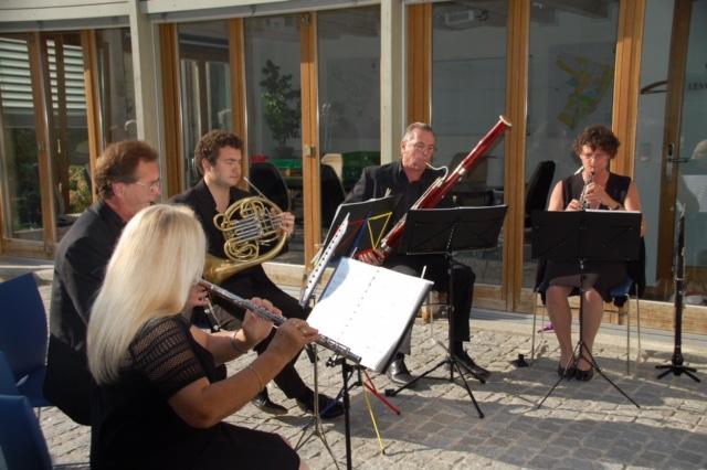 Foto Musikalische Eröffnung des Festtages in Coppet