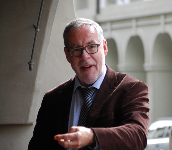 Photo Le Maire de la ville, Alexander Tschäppät, lors de son discours