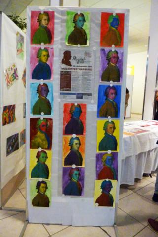 Foto Teil der Ausstellung im Perry Center